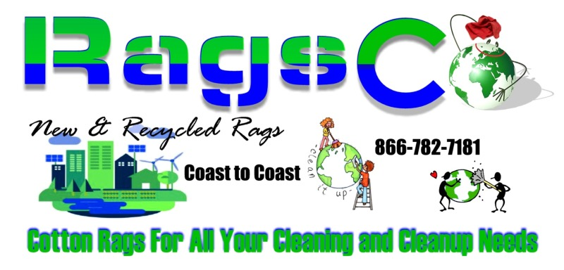 RagsCo Wiping Rags, Cleaning Cloths, Cleaning Rags, T Shirt Rags, Shop Towels